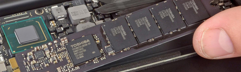Remplacer disque dur ssd macbook