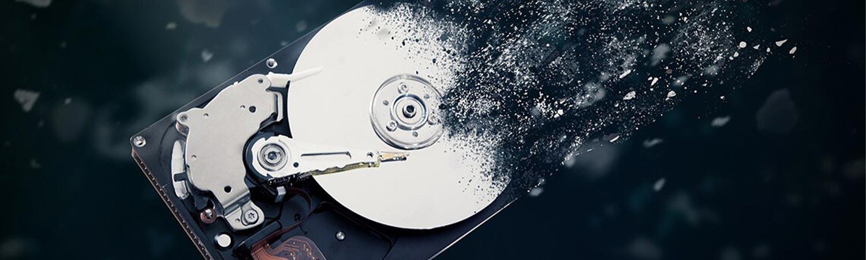 destruction de données informatique sur site